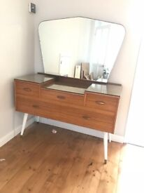 Beautiful vintage dressing table - 1950's retro MUST GO