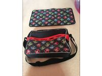 OBABY MICKEY MOUSE CHANGING BAG AND MAT