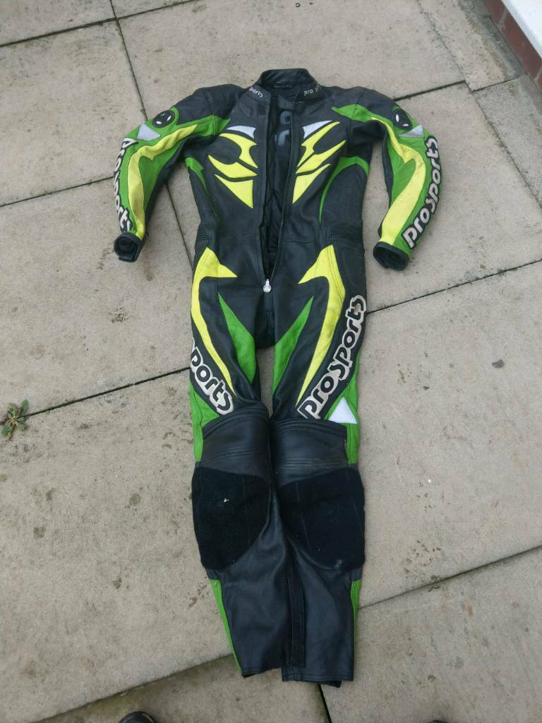 Hein Gericke one piece motorcycle leathers
