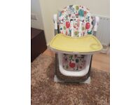 Mamas and Papas 'Roll up' high chair. Liverpool - West Derby area. Excellent condition.