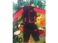 Nike baby tracksuit, 3-6 months