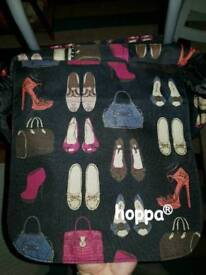 Stylish trolley bag- shoe pattern