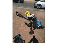 Junior golf clubs (right handed)