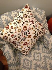 Floral pillow case only