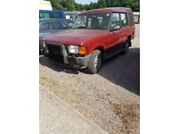 Landrover discovery spares or repair.