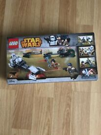 New in box Lego Star Wars