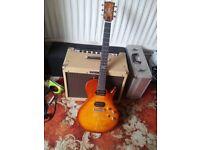 Chapman ML-2 Electric Guitar - Mahogany Body, Ebony Fretboard, Grover Tuners, Low Action,