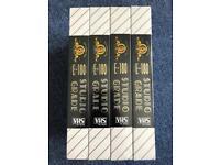 New VHS Cassette Tapes