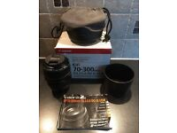 Canon EF 70-300mm f/4.5-5.6 DO IS USM lens (Boxed)