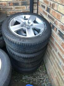VW / Audi Alloy Wheels & Tyres - 215/55/16 BRAND NEW SET!