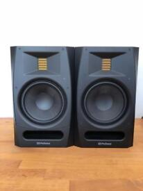 PreSonus R65 AMT powered ribbon-tweeter studio monitor PAIR mint, as new