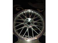 """1x Audi A6 19"""" alloy wheel"""