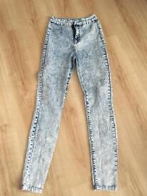 Boo Hoo Jeans Size 8