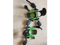 Beyondsnow strap-in bindings, boxed and never been used.