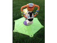 Slide & Bounce n Spin Zebra
