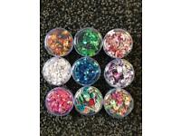Sequin selection 9 x 4g craft