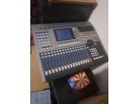 Professional Audio Workstation Mixer Recorder Yamaha AW4416