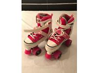 Adjustable Roller Boots Size 3-6