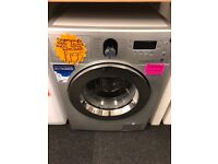 SAMSUNG 8KG DIGITAL SCREEN WASHING MACBINE IN SILIVER