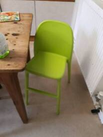 Bar stool and toddler chair (10 each)