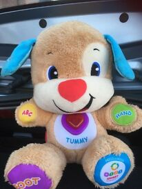 Talking/singing dog toy