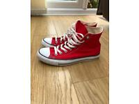 Converse High Tops size 8
