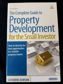 THE COMPLETE GUIDE TO PROPERTY DEVELOPMENT FOR THE SMALL INVESTOR BY CATHERINE DAWSON - BRAND NEW