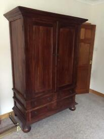 Antique Vintage wardrobe VGC ( Heavy )