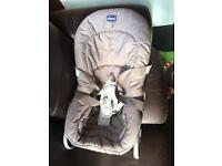Chicco baby chair lay back chair