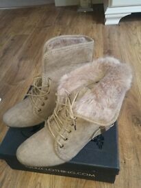 Brand New Quiz Ankle Boots