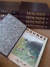 Hounds Magazines Vol 1 (Dec '84) to Vol 10 (July '94)