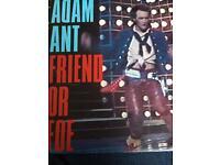 4 x vinyl singles Adam and The ants
