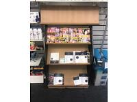 Magazine shop stand