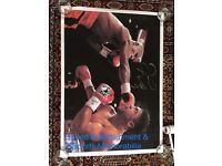 Boxing (signed by Mayweather) Canvases