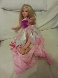 Soft Bodied Barbie Doll 36cm