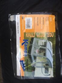 Kampa caravan porch awning with all accessories