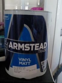 Paint 5 litre X2 tins never opened