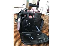 Travel hairdressing bag/ brushes