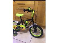 "Kids 14"" claws bike"