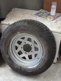 Brand new venture kumho tyre with trim