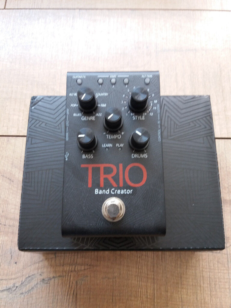 Awesome Digitech Trio Band Creator Manual