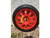 Jaguar space saver spare wheel