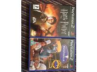 HP Goblet of fire and Ratatouille PS2 game