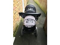 Oyster double pram 250pound grab a bargain