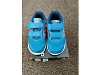 Addias trainers infant size 7