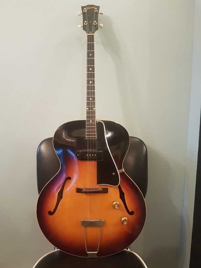 Vintage 1956 Gibson Archtop Tenor Guitar ETG-150  P90 Pick Up - RARE! | in  Norwich, Norfolk | Gumtree