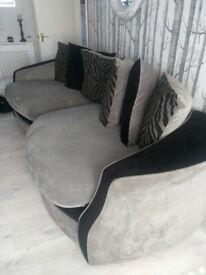 Snuggle sofa and chair