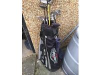 Set of full Golf Clubs suit beginner 3-9 PW/SW Driver Hybrids