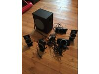 Creative inspire t6100 5.1 surround sound pc speakers