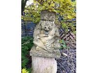 Garden statue/ornament thinking meditating